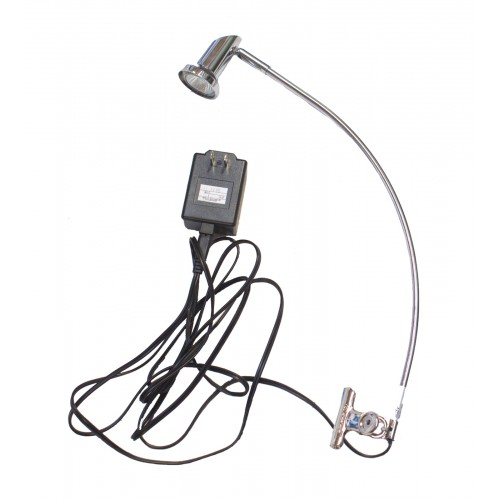 Banner Stands - Silver Clamp Light (35 W)